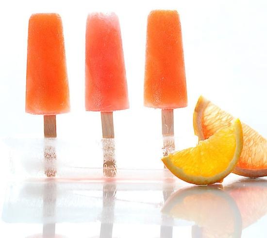 Campari-Citrus Ice Pops-Zested