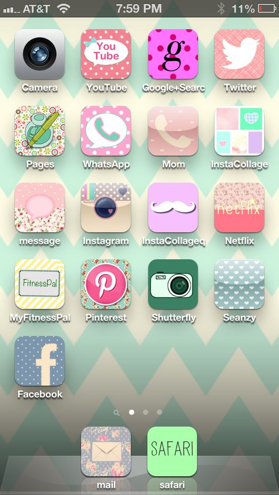Make your iPhone pretty!  cocoPPa app! Lol