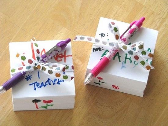 Teacher Appreciation Memo Cubes