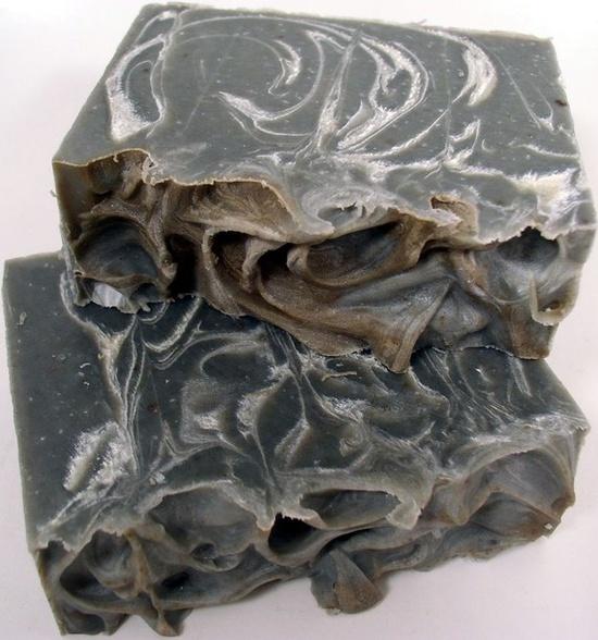 Egyptian Sassafras and Charcoal Handmade Soap
