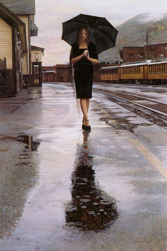 Summer rain  by Steve Hanks