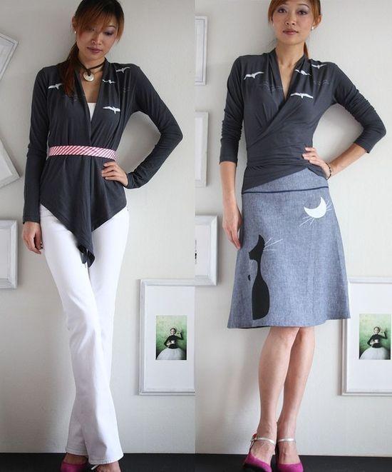 Womens Winter Fashion  Handmade Cotton Wrap  by Zoeslollipop, $50.00