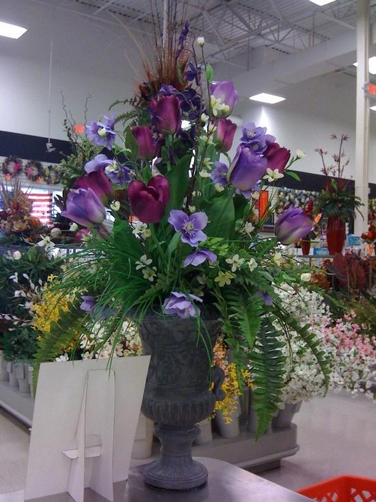 Spring Floral arrangement by Pam L, Garland, TX