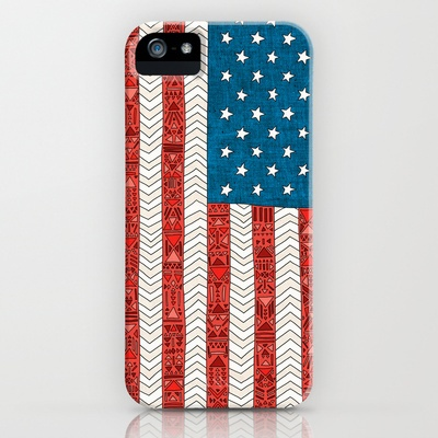 USA+iPhone+Case+by+Bianca+Green+-+$35.00