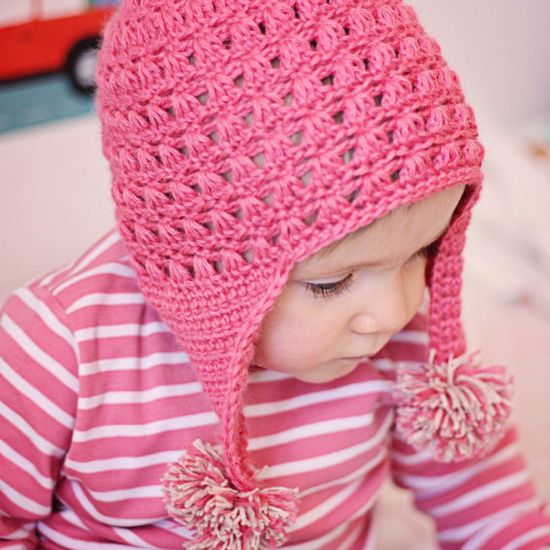 Crochet baby hat,,,,love that color
