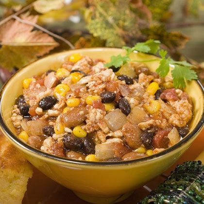 This turkey chili gets rave reviews from kids!