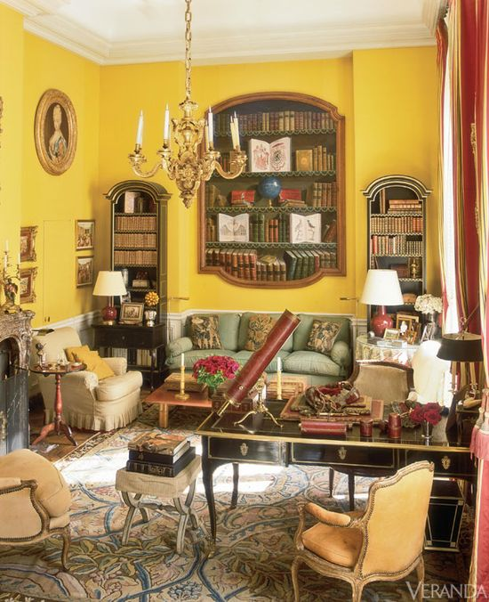 A grand home on Paris' Left Bank designed by Henri Samuel and Susan Gutfreund.