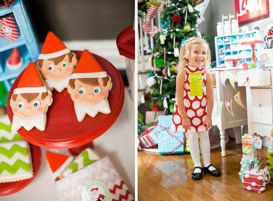 Magic Elf + Elf on a Shelf Christmas Party via Kara's Party Ideas -www.KarasPartyIdeas.com