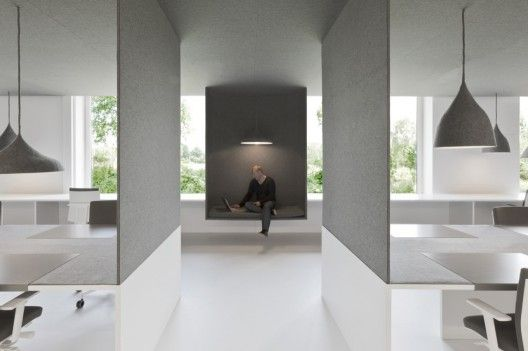 nice way to add acoustics and different seating by Architects: i29
