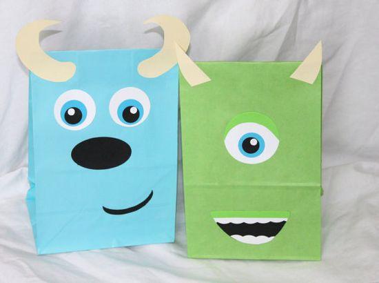 Monster Favor Bags
