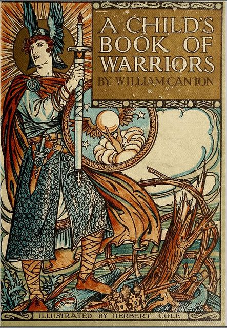 A Child's Book of Warriors 1907 - cover