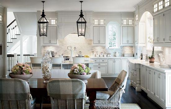 white kitchens!