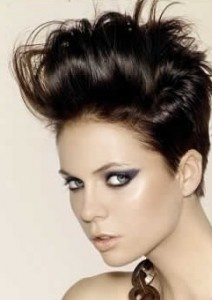 prom hairstyle for short hair