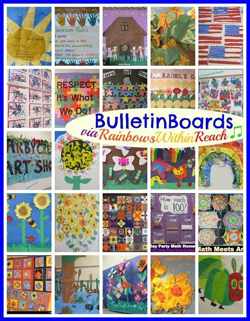 Bulletin Board Round Up via RainbowsWithinReach