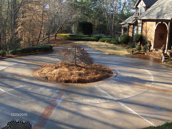 Custom Brick Driveway #custom_brick_driveway