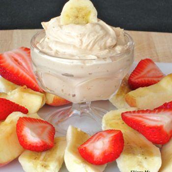 Peanut Butter-Yogurt Dip