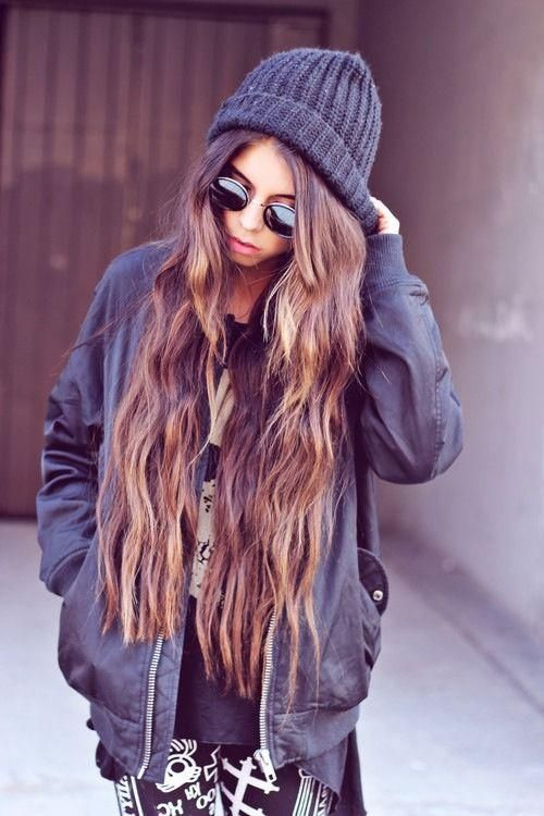 Love long hair.