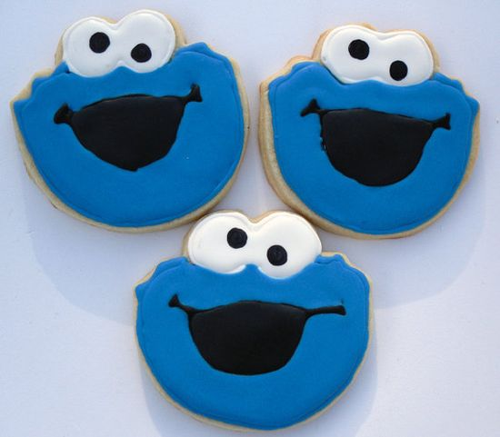 You need cookies for a Cookie monster party!