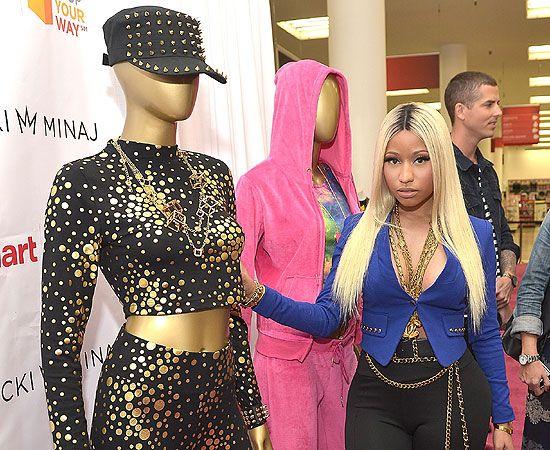 Nicki Minaj lanza su colección de moda #celebrities #fashion #news