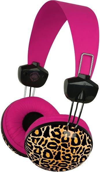 Large Headphone Kensington Leopard