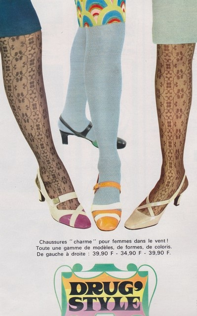 1967 - Bata shoes. Drug style?!