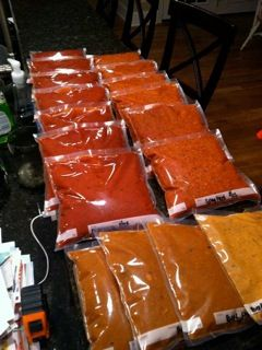 Freezer bags filled with deliciousness! The Test Kitchen of Melissa Fallis: Freezer Cooking #3 - Sauce-a-Palooza!!