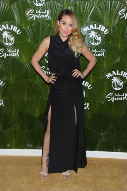 Lauren Conrad at the Malibu Island Spiced Launch Party