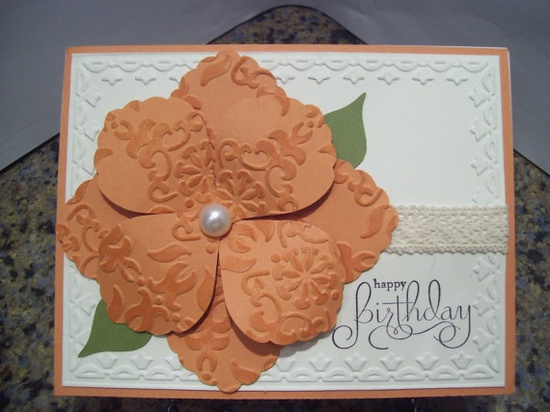 Handmade Happy Birthday Card Stampin Up
