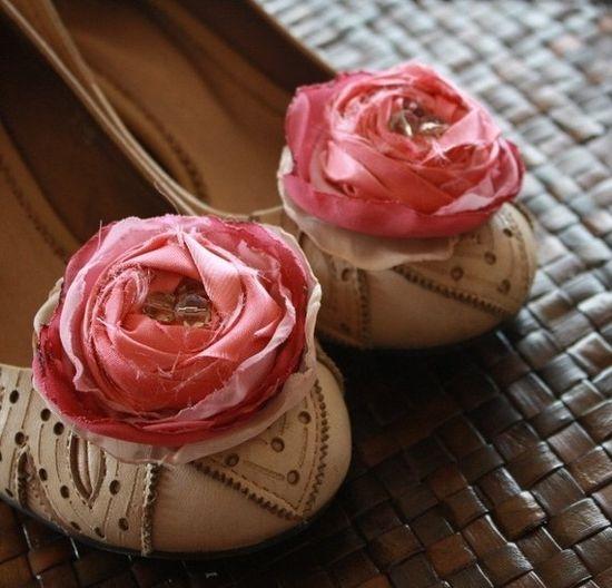 Bridal, DIY, FABRIC FLOWERS