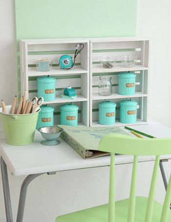 Mini desk idea