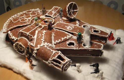 Gingerbread Millennium Falcon  :)