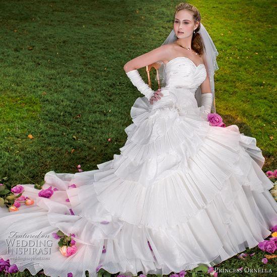 Princess Ornella bridal gowns