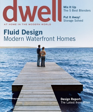 FLUID DESIGN  Modern Waterfront Homes  July/August 2005, Vol. 05 Issue 07      Read more: www.dwell.com/...