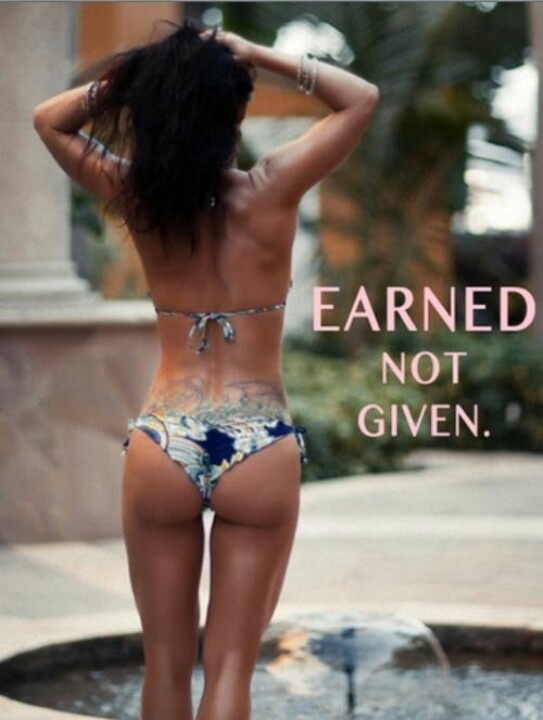 earned not given. #workout #motivation #fitness