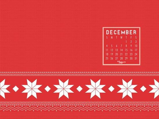 Free desktop wallpaper for December!