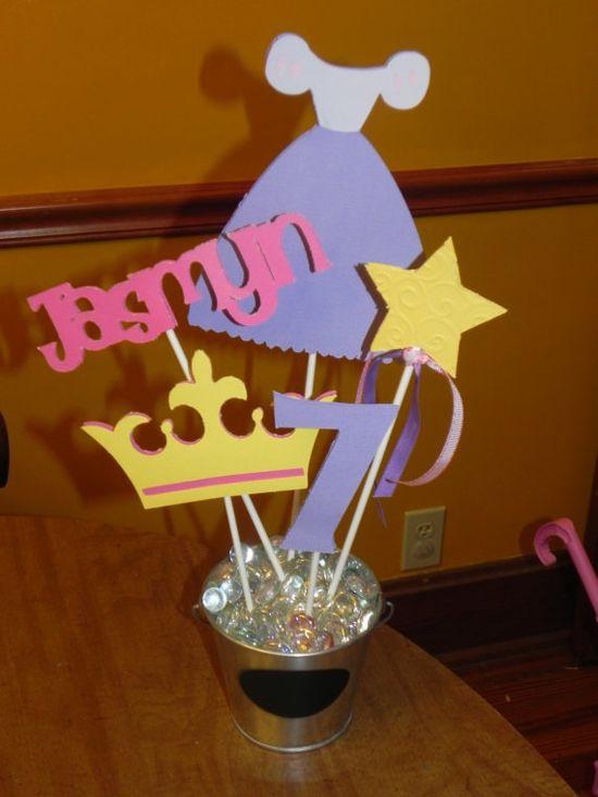 Rapunzel  Birthday Party Centerpiece