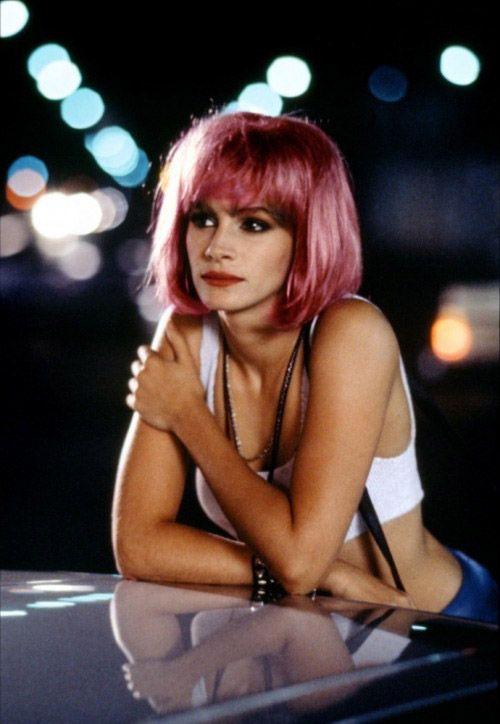 "Julia Roberts in ""Pretty Woman"""