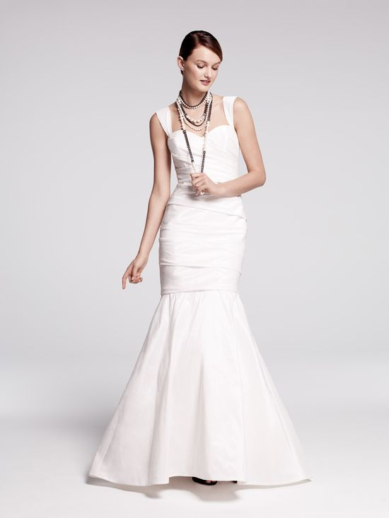 Nouvelle Amsale taffeta mermaid gown, exclusive to Nordstrom Wedding Suites