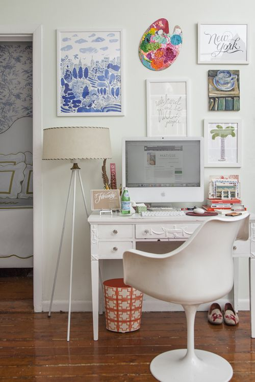 matchbookmag:    Jane Lilly Warren's desk… (photo: Courtney Apple / Matchbook March '13)