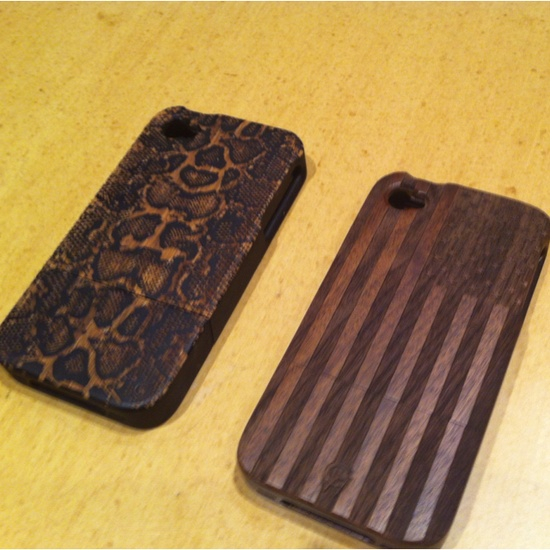 New wood iPhone cases