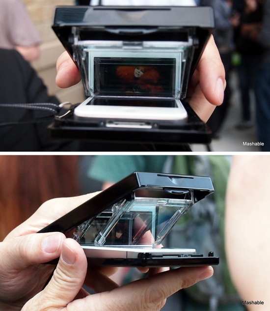 Turn your phone into a 3D viewer.