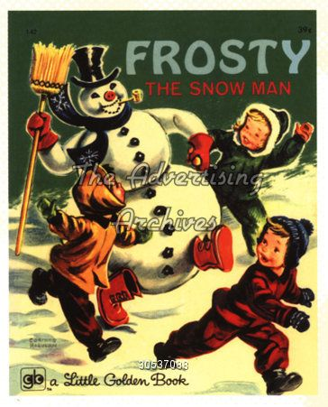 Frosty book cover