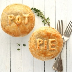 pot pie crust! This site has lots of recipes.