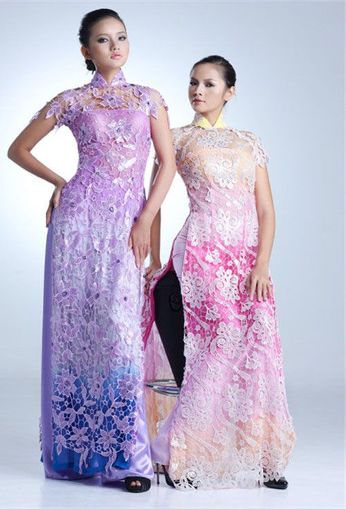Beautiful Lace Ao Dai