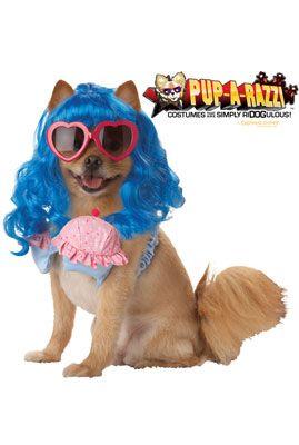 Cupcake Girl Pet Costume - Pure Costumes
