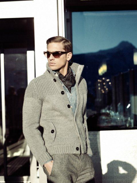 Pierre Cardin Fall-Winter 2012/2013 Men's Fashion: Comfortable Elegance