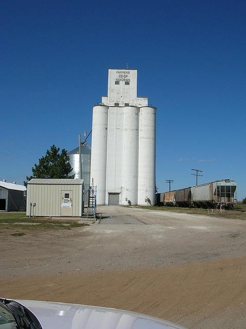 Hargrave, Rush Co, KS by jackiej53, via Flickr