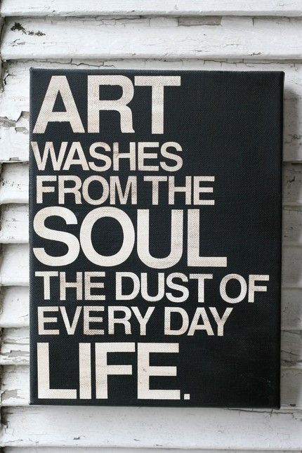 Picasso Quote: inspiration at its finest