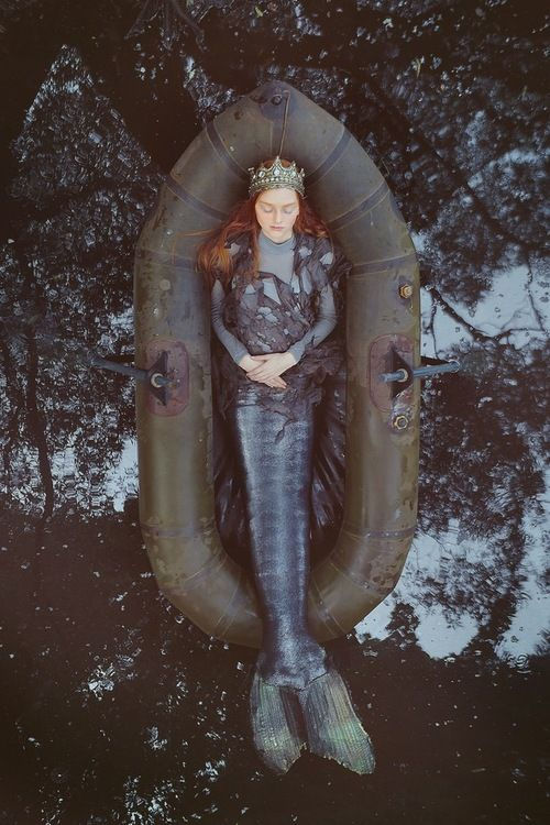 The U.S. Coast Guard recently reported the rescue of their 1st ever mermaid. The mermaid, after resting, reportedly signed a few autographs and slipped back into the sea.