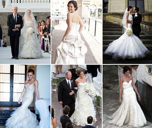 wedding dress celebrity ideas